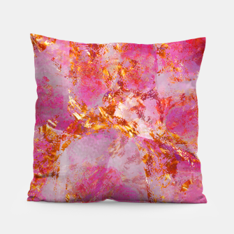 Dauntless Pink Vivid Abstract |  Pillow thumbnail image