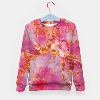 Dauntless Pink Vivid Abstract |  Kid's sweater thumbnail image