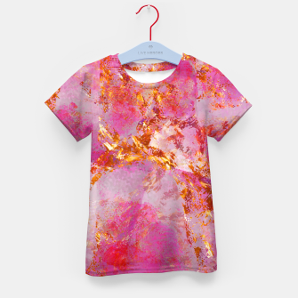 Dauntless Pink Vivid Abstract |  Kid's t-shirt thumbnail image