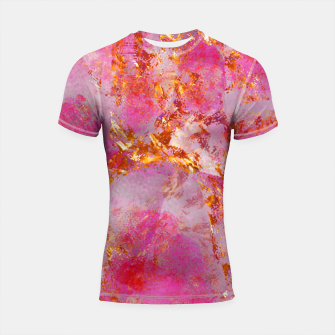 Miniaturka Dauntless Pink Vivid Abstract |  Shortsleeve rashguard, Live Heroes