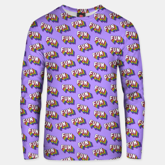 Thumbnail image of FUN Unisex sweater, Live Heroes
