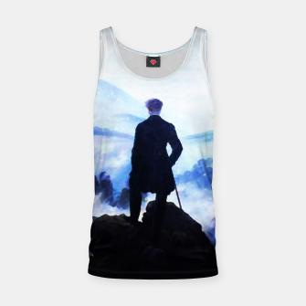 Miniatur The Wanderer Above the Sea of Fog Tank Top, Live Heroes