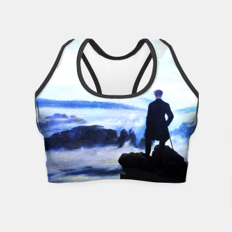 Miniatur The Wanderer Above the Sea of Fog Crop Top, Live Heroes