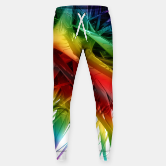 Miniaturka Abstract Rainbow Sweatpants, Live Heroes