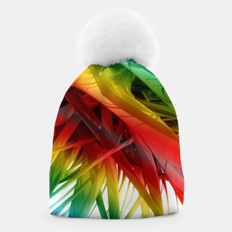 Thumbnail image of Abstract Rainbow Beanie, Live Heroes