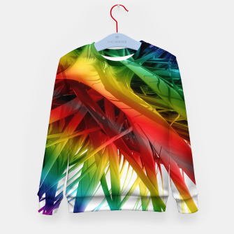 Thumbnail image of Abstract Rainbow Kid's sweater, Live Heroes
