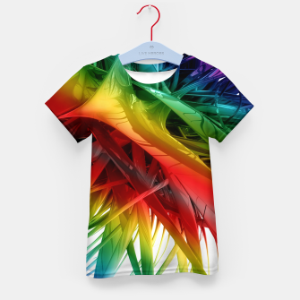 Miniaturka Abstract Rainbow Kid's t-shirt, Live Heroes