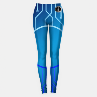 Thumbnail image of SublowGrim City Hero V.2 Leggings, Live Heroes