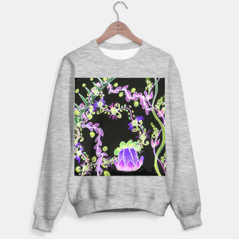 Thumbnail image of Psychedelic Irish Garden Queen's Crown Night Sweater regular, Live Heroes