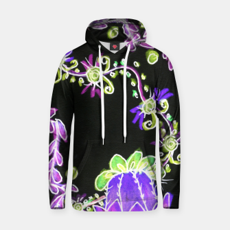 Thumbnail image of Psychedelic Irish Garden Queen's Crown Night Hoodie, Live Heroes
