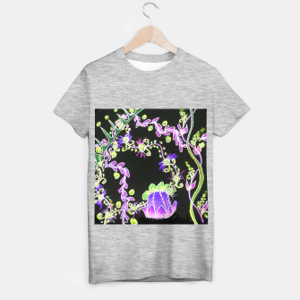 Thumbnail image of Psychedelic Irish Garden Queen's Crown Night T-shirt regular, Live Heroes