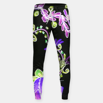Thumbnail image of Psychedelic Irish Garden Queen's Crown Night Sweatpants, Live Heroes