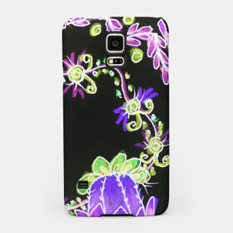 Thumbnail image of Psychedelic Irish Garden Queen's Crown Night Samsung Case, Live Heroes