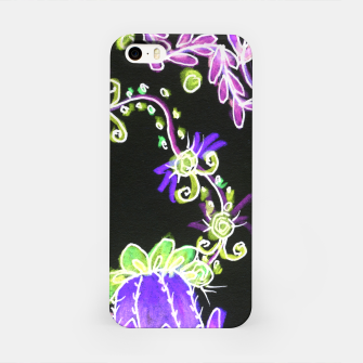 Thumbnail image of Psychedelic Irish Garden Queen's Crown Night iPhone Case, Live Heroes