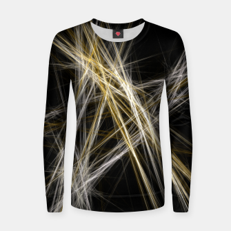 Miniaturka Abstract 1 - Gold & Silver Frauen sweatshirt, Live Heroes