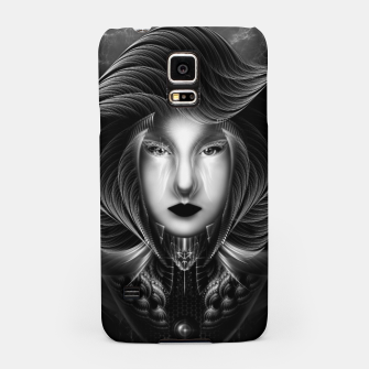 Thumbnail image of Trilia Red Nebula Portrait BLKGS Samsung Case, Live Heroes