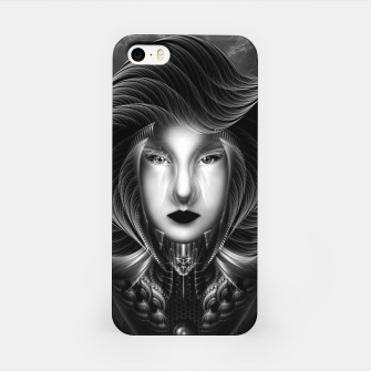 Thumbnail image of Trilia Red Nebula Portrait BLKGS iPhone Case, Live Heroes