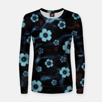 Thumbnail image of Floral abstract Women sweater, Live Heroes
