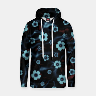 Thumbnail image of Floral abstract Hoodie, Live Heroes