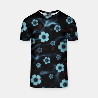 Thumbnail image of Floral abstract T-shirt, Live Heroes