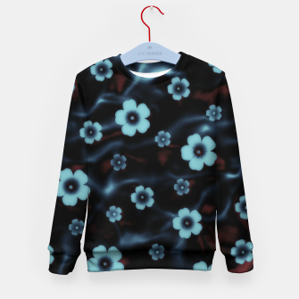Thumbnail image of Floral abstract Kid's sweater, Live Heroes