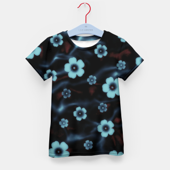 Thumbnail image of Floral abstract Kid's t-shirt, Live Heroes