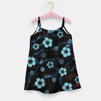 Thumbnail image of Floral abstract Girl's dress, Live Heroes