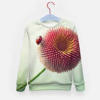 Thumbnail image of Pencil Flower Kid's sweater, Live Heroes