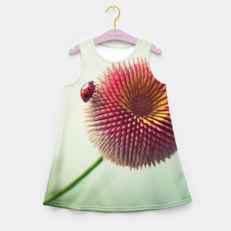 Thumbnail image of Pencil Flower Girl's summer dress, Live Heroes