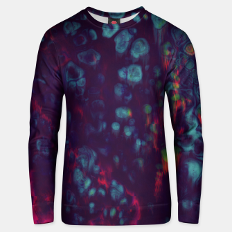 Thumbnail image of Synthwave - Abstract Glitchy Pixel Art Unisex sweater, Live Heroes