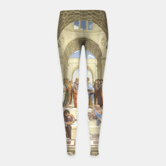 Miniatur Back to School Girl's leggings, Live Heroes