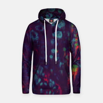 Thumbnail image of Synthwave - Abstract Glitchy Pixel Art Hoodie, Live Heroes