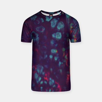 Thumbnail image of Synthwave - Abstract Glitchy Pixel Art T-shirt, Live Heroes