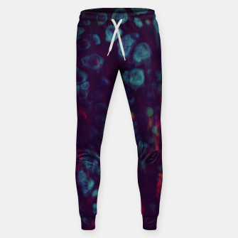 Thumbnail image of Synthwave - Abstract Glitchy Pixel Art Sweatpants, Live Heroes