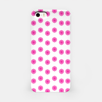 Thumbnail image of Magenta Flowers Pattern Design iPhone Case, Live Heroes