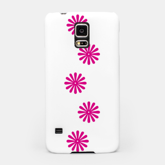 Thumbnail image of Magenta Flowers Design Samsung Case, Live Heroes
