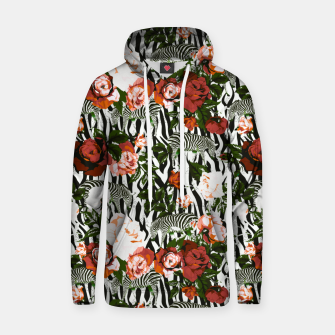 Thumbnail image of Zebras among roses Sudadera con capucha, Live Heroes