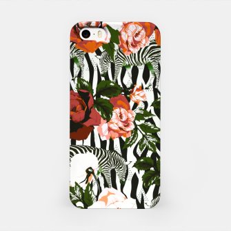 Thumbnail image of Zebras among roses Carcasa por Iphone, Live Heroes