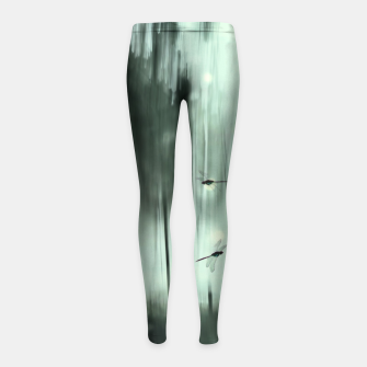 Miniatur Midnight flight Girl's leggings, Live Heroes
