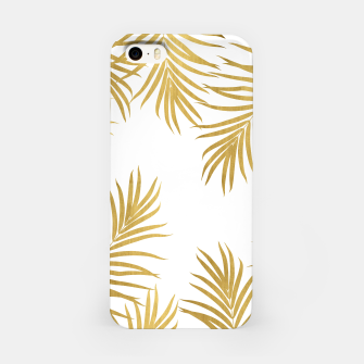 Thumbnail image of Gold Palm Leaves Vibes #1 #shiny #tropical #decor #art iPhone-Hülle, Live Heroes