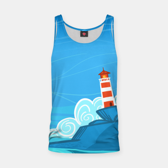 Miniature de image de The Lighthouse Tank Top, Live Heroes