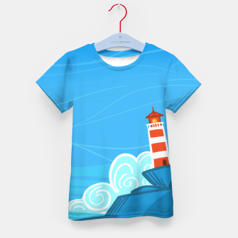Miniature de image de The Lighthouse Kid's t-shirt, Live Heroes