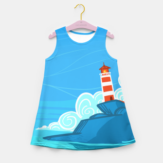 Miniature de image de The Lighthouse Girl's summer dress, Live Heroes