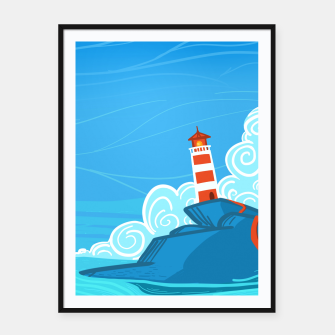 Miniature de image de The Lighthouse Framed poster, Live Heroes
