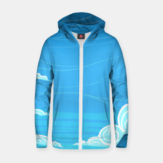 Miniature de image de The Lighthouse Zip up hoodie, Live Heroes