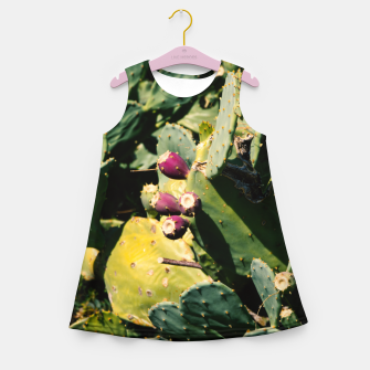 Thumbnail image of Cactus Girl's summer dress, Live Heroes