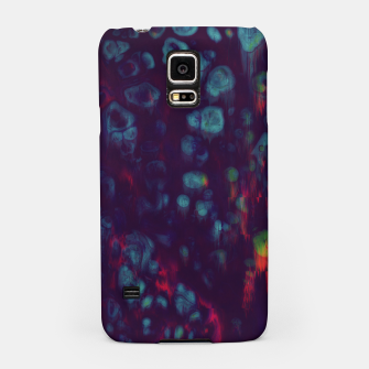 Miniaturka Synthwave - Abstract Glitchy Pixel Art Samsung Case, Live Heroes