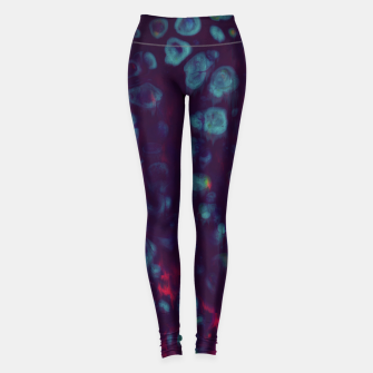 Miniaturka Synthwave - Abstract Glitchy Pixel Art Leggings, Live Heroes