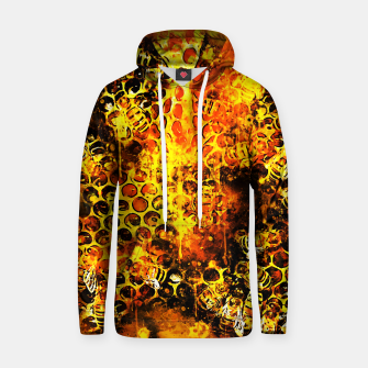 Imagen en miniatura de gxp bees fill honeycombs in hive splatter watercolor Hoodie, Live Heroes