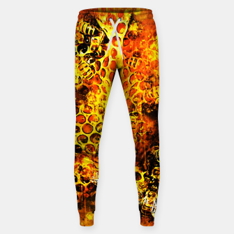 Imagen en miniatura de gxp bees fill honeycombs in hive splatter watercolor Sweatpants, Live Heroes